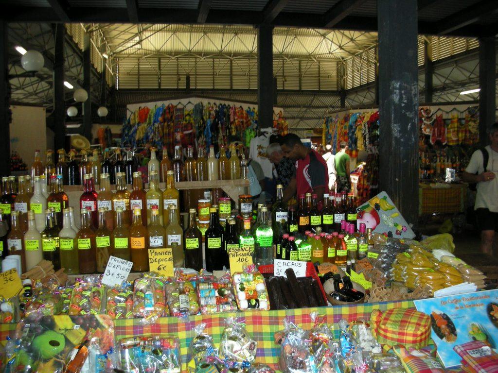 Пазарът в Мартиника