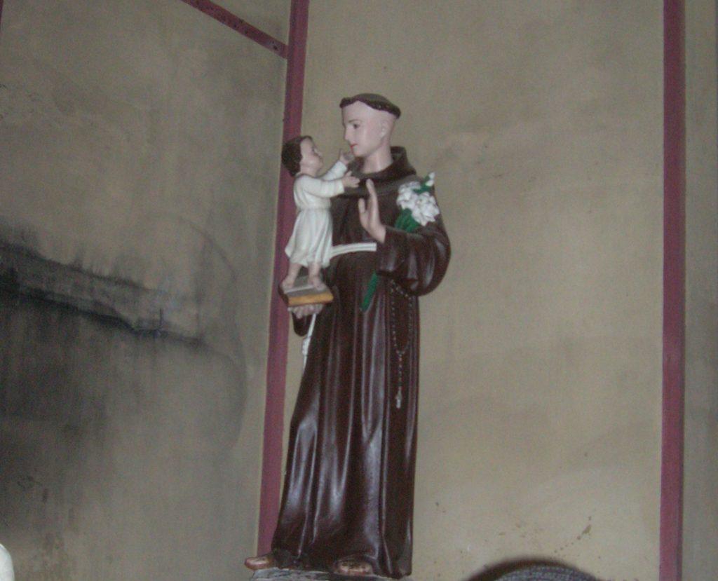 Светецът като Бой Джордж на млади години