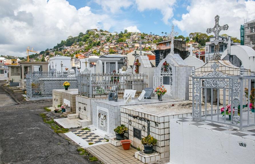 Веселото гробище на Мартиника