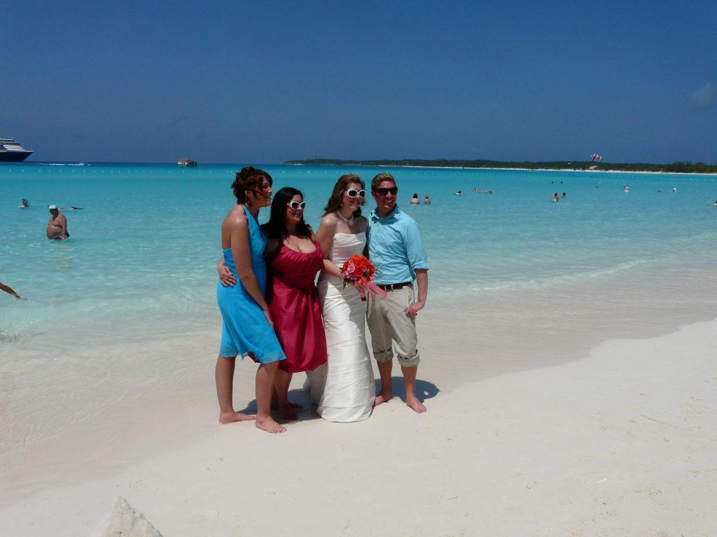 Сватба на Бахамите