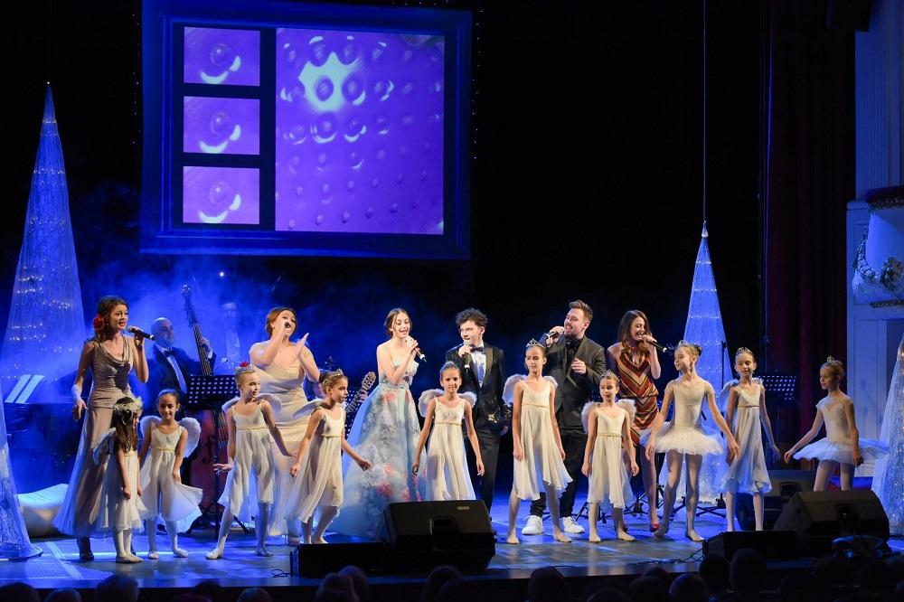 Момент от Коледния концерт във варненската опера