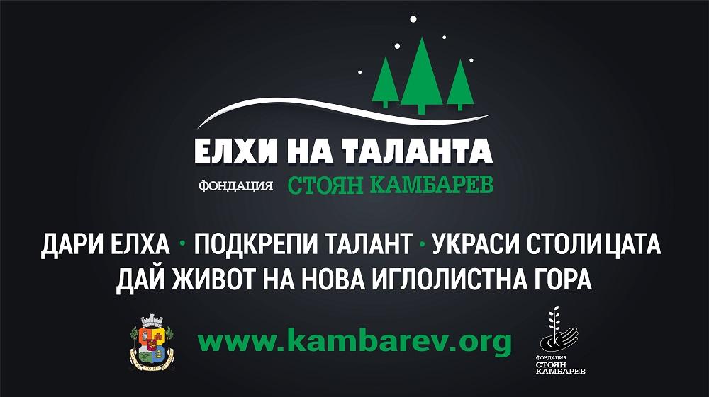 """ЕЛХИ НА ТАЛАНТА на Фондация """"Стоян Камбарев"""" сбъдва коледни мечти!"""
