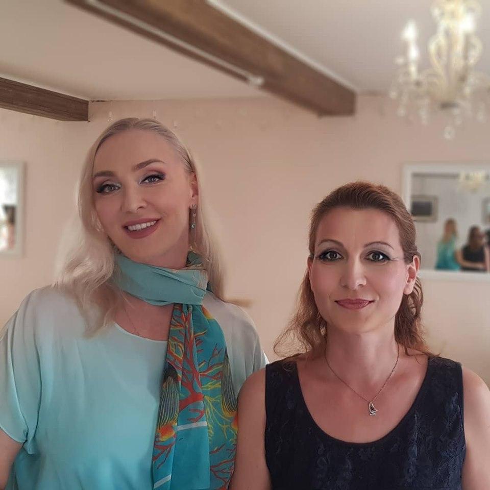 Наталия Козелкова и  Радомира Михова