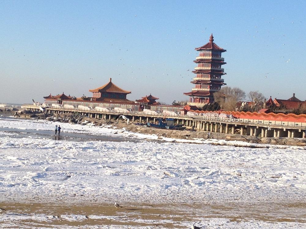 Пънлай в Китай през зимата....