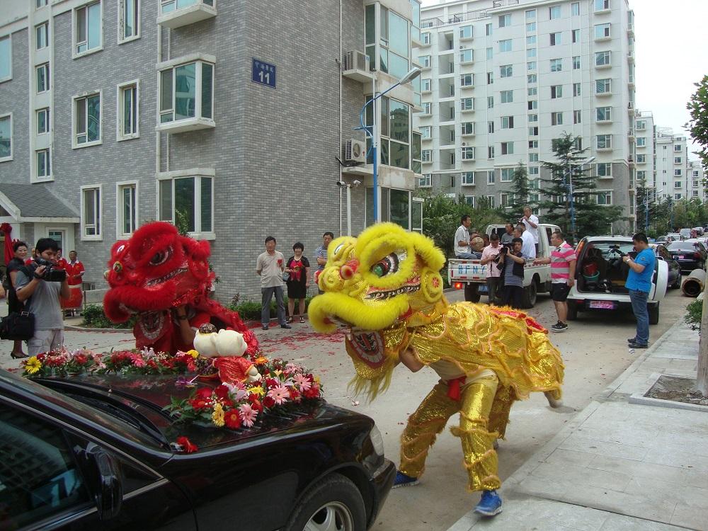 Пънлай в Китай. Сватбени дракони