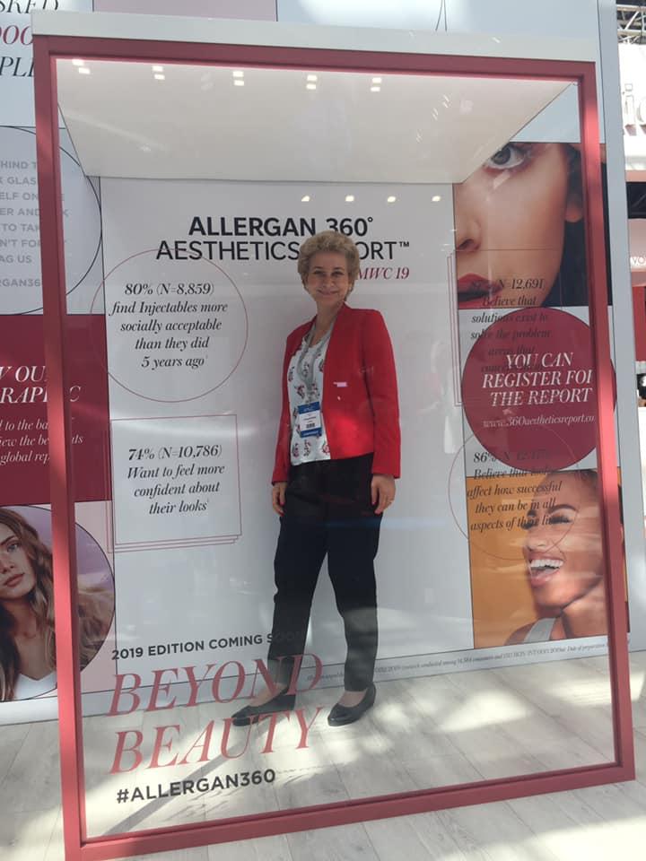 Д-р Ана Пейкова на Световния конгрес по естетична медицина в Монако.