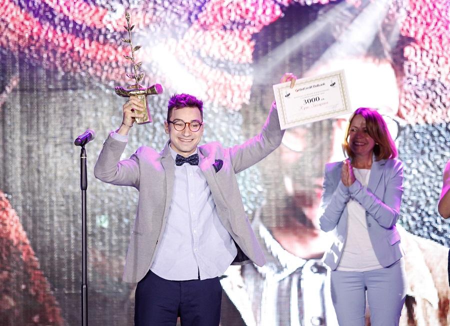 """Мултиталантът Крис Захариев е носител на Наградата за Полет в изкуството  """"Стоян Камбарев"""" 2020"""