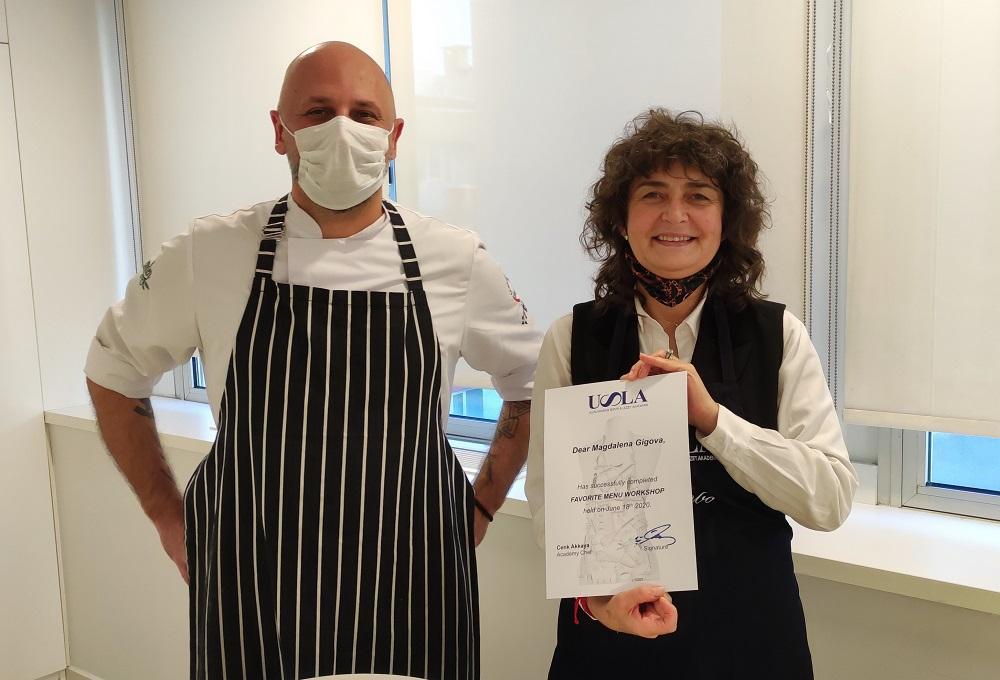Истанбул и по време на Ковид е опасно вкусен - с шеф Дженк Аккая и сертификатът от мастер-класа по турска кухня