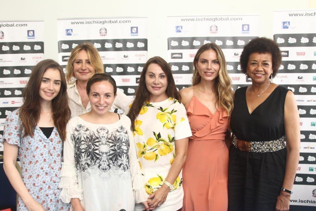 Дарина Павлова и Ави Лернер в почетния борд на Ischia Global Film&Music Fest 2021