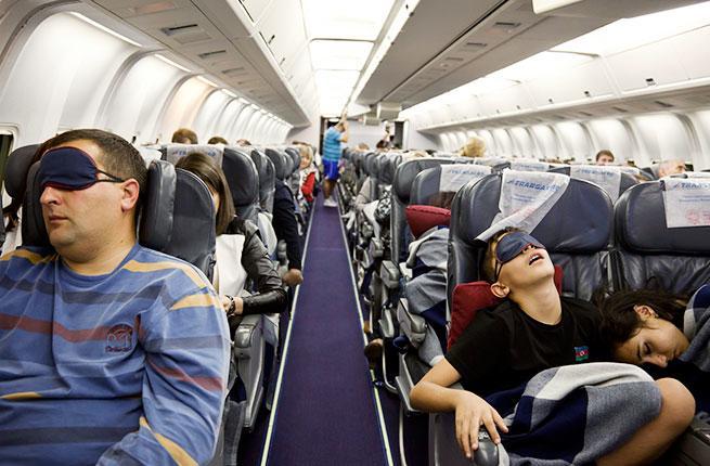 Седем хватки как и след 10-часов полет да останете свежи