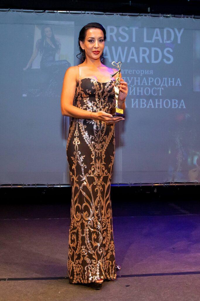 First lady международна дейност - Ана Иванова