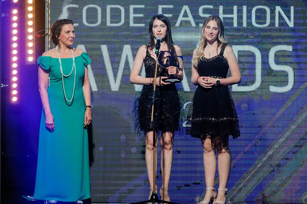 """София и Доротея Борисови, Пембе Кенан и """"Агресия"""" триумфираха на Code Fashion Awards"""