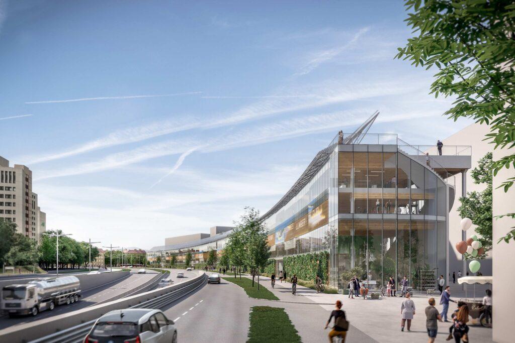Строят село в центъра на Виена © 2021 ZOOMVP/ARTEC