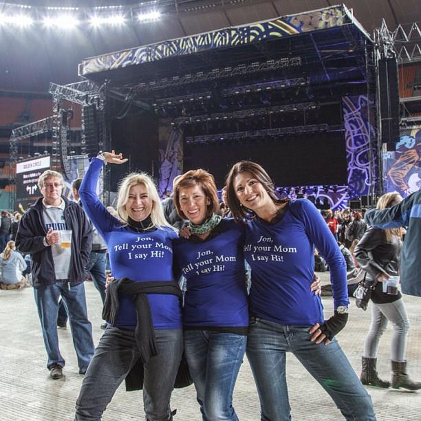 Кристина Димитрова Уилмот на концерт на Джон Бон Джоуви в Южна Африка