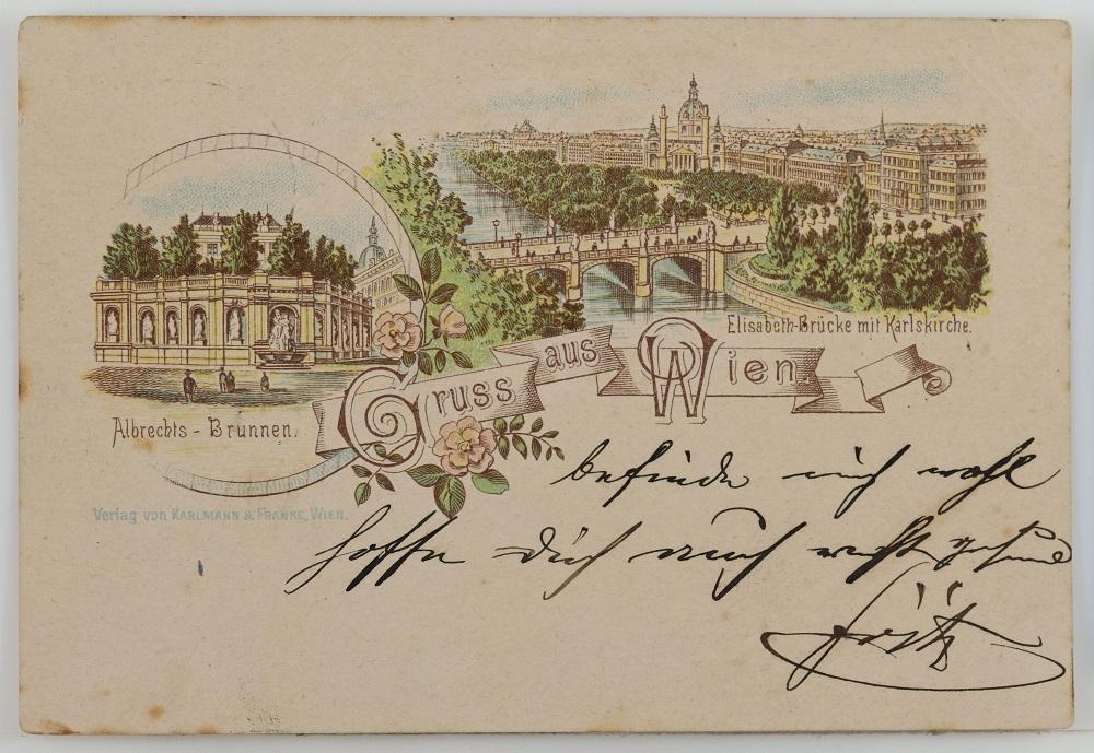 Виенски музей търси доброволци за разчитане на стари пощенски картичкиWien Museum, Inventarnummer HMW 305564 © Wien Museum